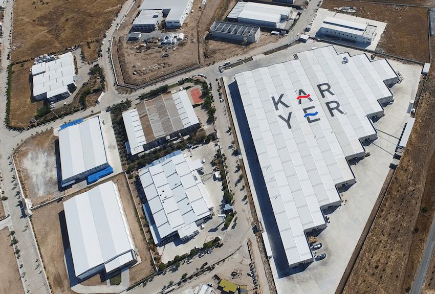 Nouvelles lignes de fabrication à l'usine KARYER en Akhisar