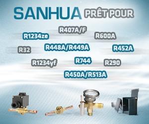 Sanhua relève le défi des nouveaux fluides frigorigènes à faible PRG