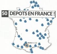 La proximité Framacold : 50 dépositaires